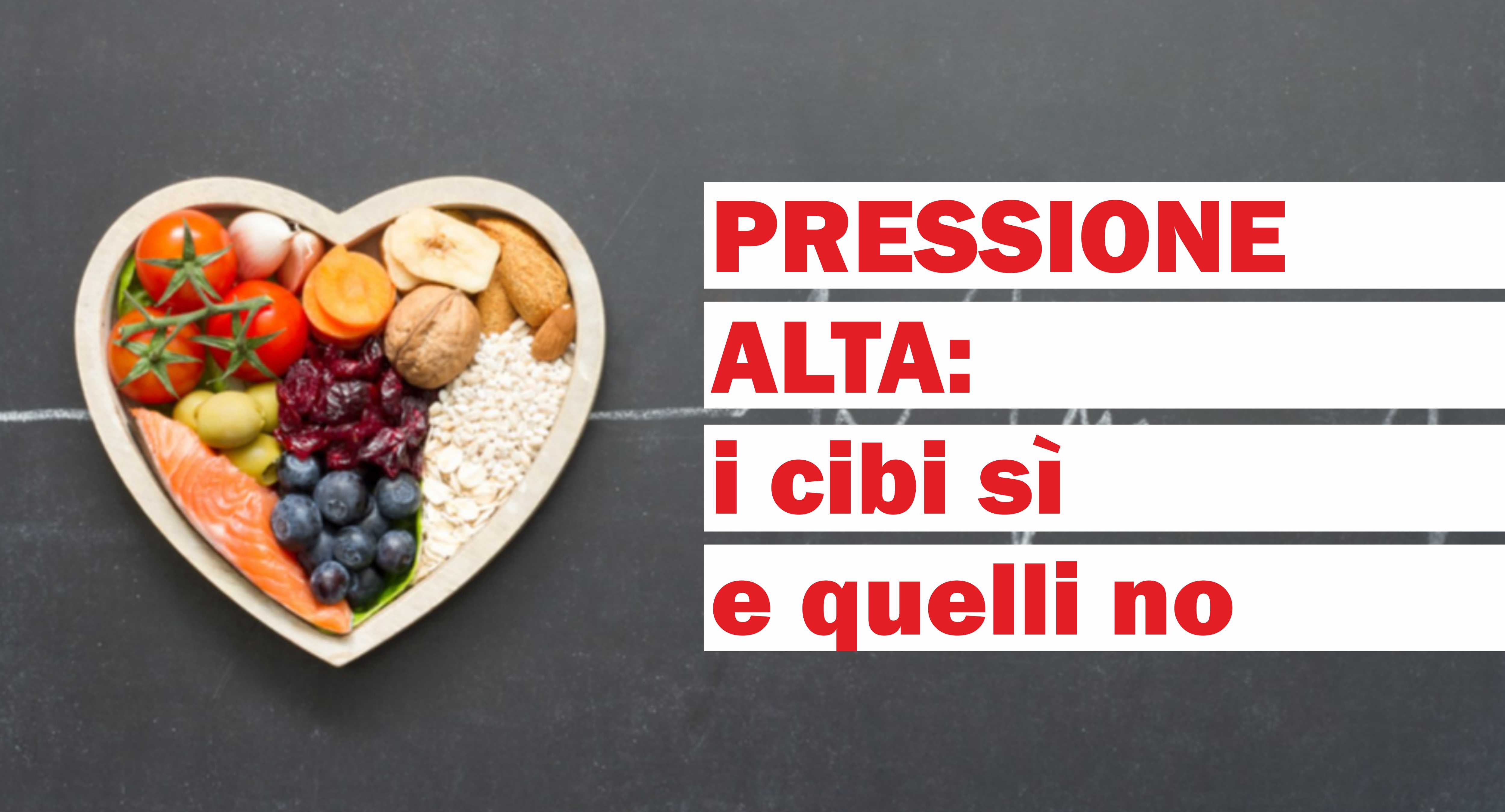 suggerimenti dietetici per lipertensione